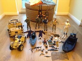 HM Armed Forces Figures & Vehicle Collection