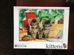 NEW (Still in Sealed Box) 500 Pc. Puzzle 'KITTENS'