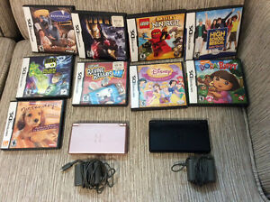 Nintendo DS Light and various games