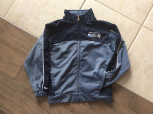 Kids Seattle Seahawks Jacket and T-shirt