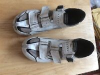 Size 45E shimano cycling shoes