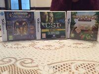 3 Nintendo DS Games