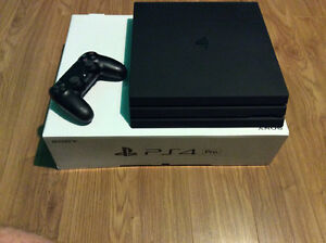 PlayStation 4 PRO Adult Owned Mint Condition FIRM Price