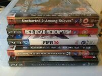 Bundle of 6 Sony PlayStation 3, PS3 Games