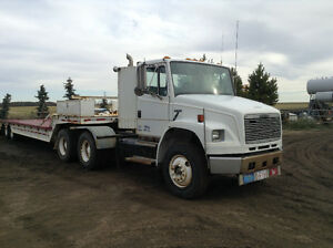1996 Freightliner & 40' Wilson Drop Deck Trailer