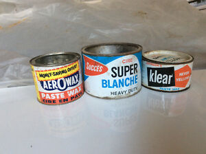Vintage Household Tins