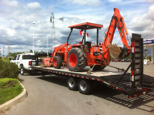 """Flatbed Trailer service , rated """"Five Star"""" by 411 services"""
