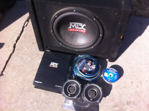 4-inch JBL speakers and 12-inch Sub with WiringKit