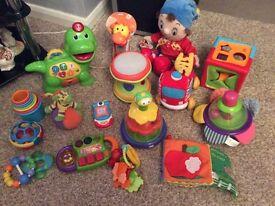 Job lot of babies toys