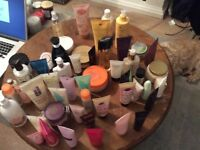 Toiletries for sale