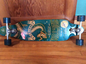 Barely used sector nine longboard
