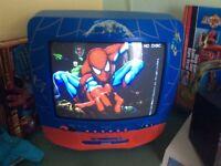 SPIDER-MAN TV/DVD COMBI