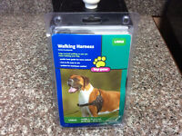 walking harness for a large dog