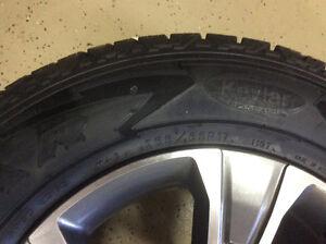 Chevy Colorado Mag and Tire new - Jante et pneus neuf 255/65/17 Gatineau Ottawa / Gatineau Area image 2