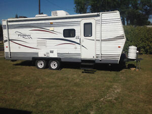 Pioneer 21ft (measurement does not include hitch) travel trailer