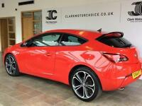 2014 Vauxhall Astra 1.4 i 16v Turbo Limited Edition 3dr (start/stop) Petrol red