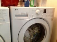 eNERGY EFFICIENT lg WASHER/DRYER 6 YEAR WARRANY