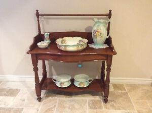 1850's 7 Piece Washbasin Set