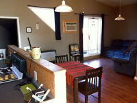 Penthouse Style Apartment for Rent! In CRESTON BC. Large decks