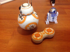 Star Wars R2-D2 and BB-8 Rc