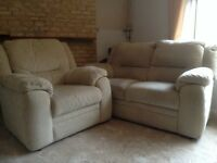 Two seater sofa and two chais