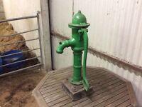 Antique pump