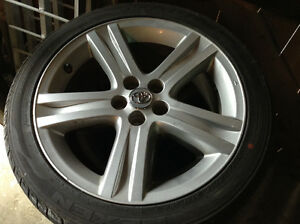 Brand new tires with excellent alloy rims!!!