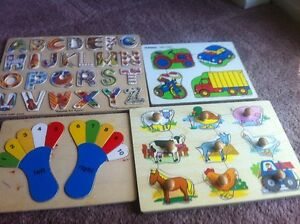 Wooden puzzle games Windsor Region Ontario image 1