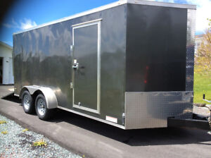 New 2017 Enclosed Utility Trailer