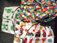 Cloth diapers and pail liner