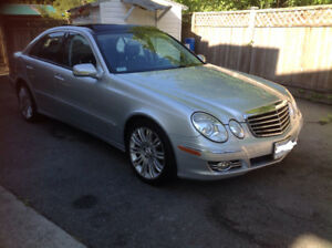 2007 Mercedes-Benz E-Class 550 4matic Sedan