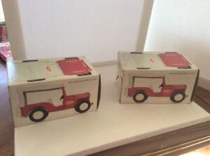 2 Near mint Tonka Beach Buggy's  with original boxes!
