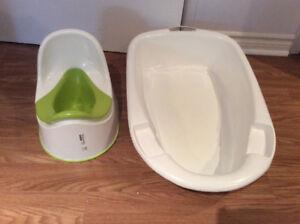 bain pour bébé,pot,siège dora