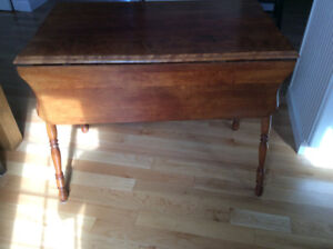 Kitchen table or small space table -antique