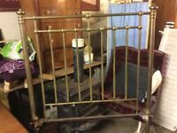 Antique Brass Douuble Bed Frame