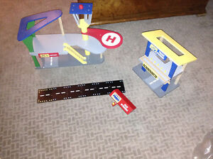 Hape wooden airport, Train station and bus station for sale London Ontario image 1