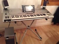 YAMAHA TYROS 4 , with MS05 SPEAKER SYSTEM