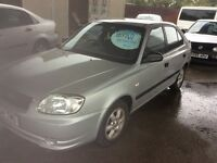 2004 Hyundai Accent 1.6 GSI-12 months mot-82000-2 owners-great value