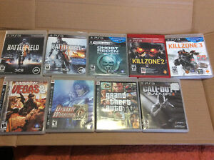 PS3 Video games  $7 each