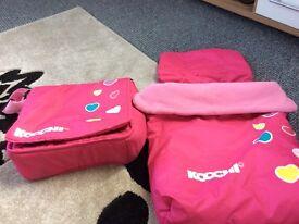 Kochi footmuff and changing bag
