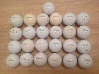 25 TITLEIST PRO V1 x GOLF BALLS