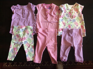 Baby girl clothes - size 3 - 6 months