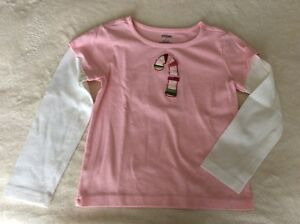 Gymboree Size 5 Candy Cane  Long Sleeve Shirt
