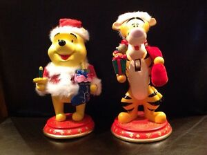 Winnie and Tigger Nut Crackers
