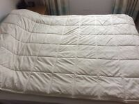 Double Mattress protector topper Dunelm mill