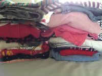 Bundle of girls clothes ranging from 6-8 years.