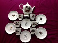 Hendricks Gin 13 Piece Tea Set (limited edition)