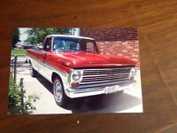 1968 Ford F100 Ranger: excellent stock condition