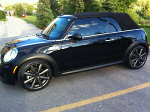 2012, mini Cooper, S, convertible.  With factory Warranty!