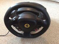 Thrustmaster Ferrari 458 Italia Steering Wheel, Pedals and Games